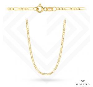 Łańcuszek złoty 585 splot Figaro 55cm