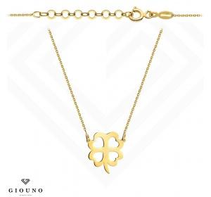 Złoty naszyjnik / celebrytka - koniczynka