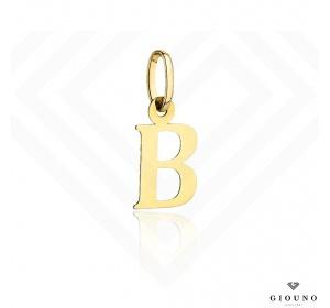 Zawieszka złota 585 literka B