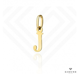 Zawieszka złota 585 literka  J