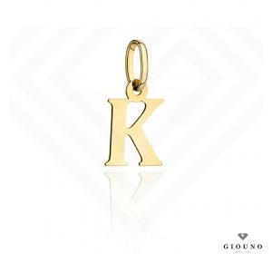 Zawieszka złota 585 literka  K