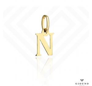 Zawieszka złota 585 literka  N