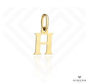Zawieszka złota 585 literka  H