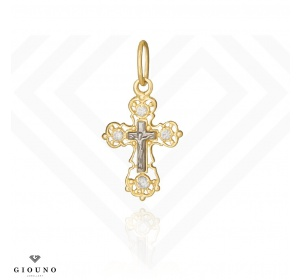 Złoty krzyżyk PRAWOSŁAWNY pr.585
