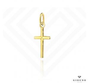 Złoty krzyżyk 585 prosty klasyczny