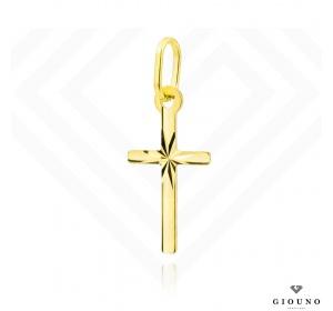 Złoty krzyżyk 585 zawieszka