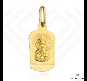 Złoty medalik 585 Matka Boska Częstochowska