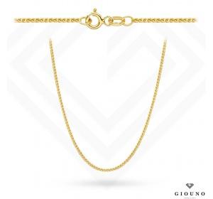 Złoty łańcuszek 585 LISI OGON 45 cm