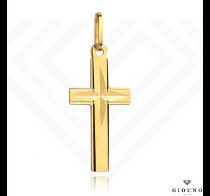 Krzyżyk złoty 585 zawieszka