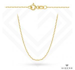 Złoty łańcuszek 585 splot ankier 45 cm