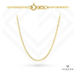 Złoty łańcuszek 585 splot GUCCI 50 cm