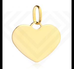 Złote małe serduszko 585 zawieszka